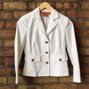    TORY BURCH    Cropped Stretch blazer jacket